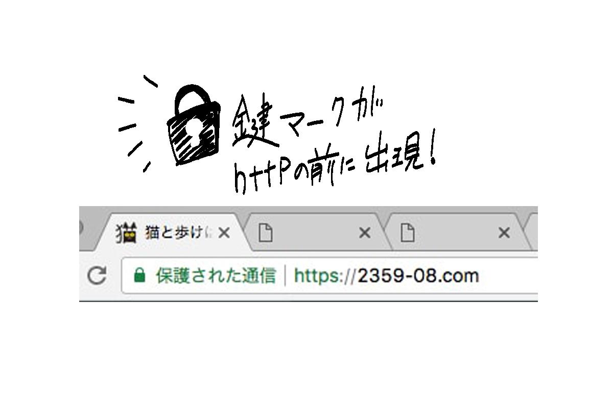 httpからhttpsに。URLの変更でセキュリティの向上を目指す!