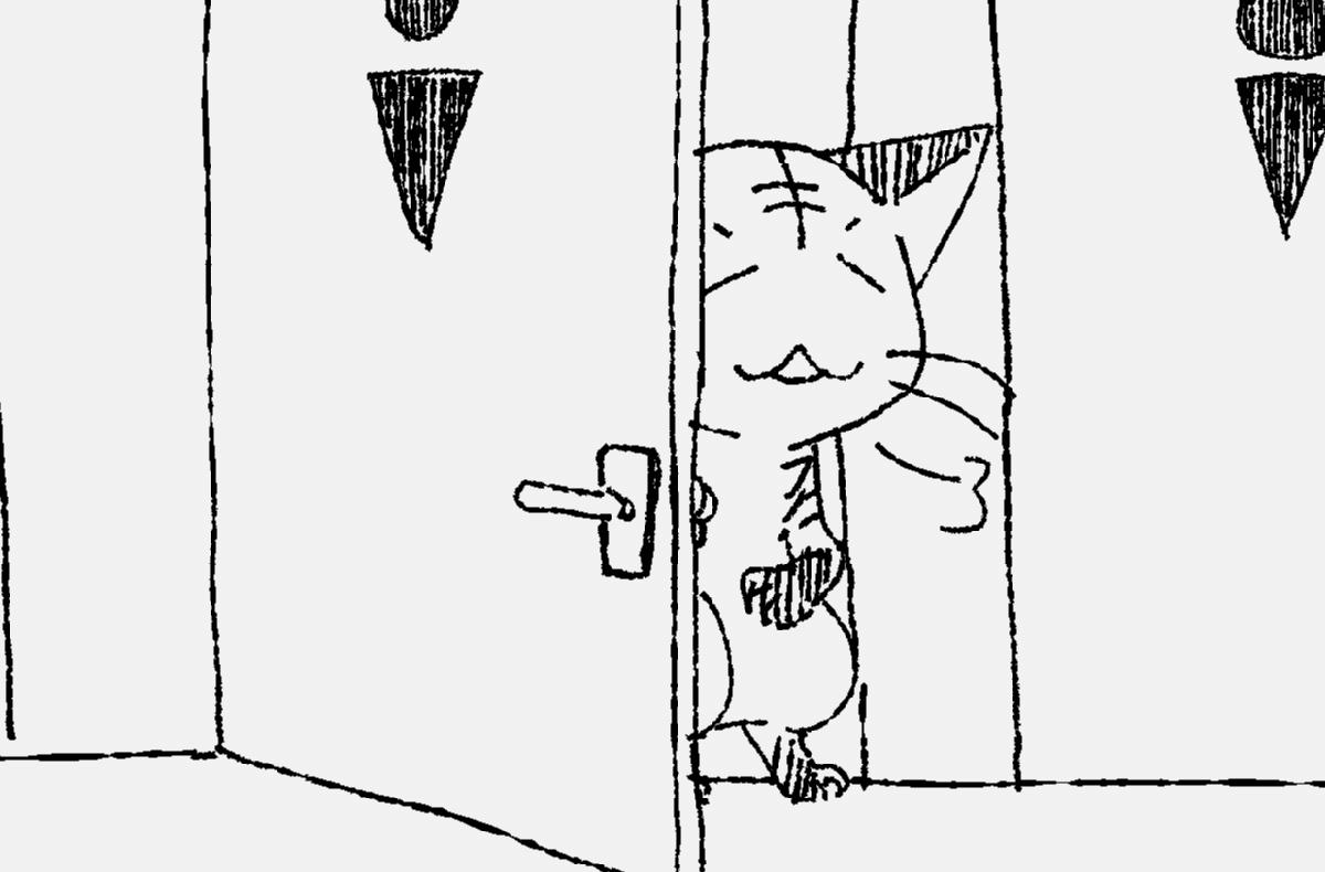 ウチの猫さんたちのトイレ事情。公衆トイレのような押し入れと、大容量の猫砂と。
