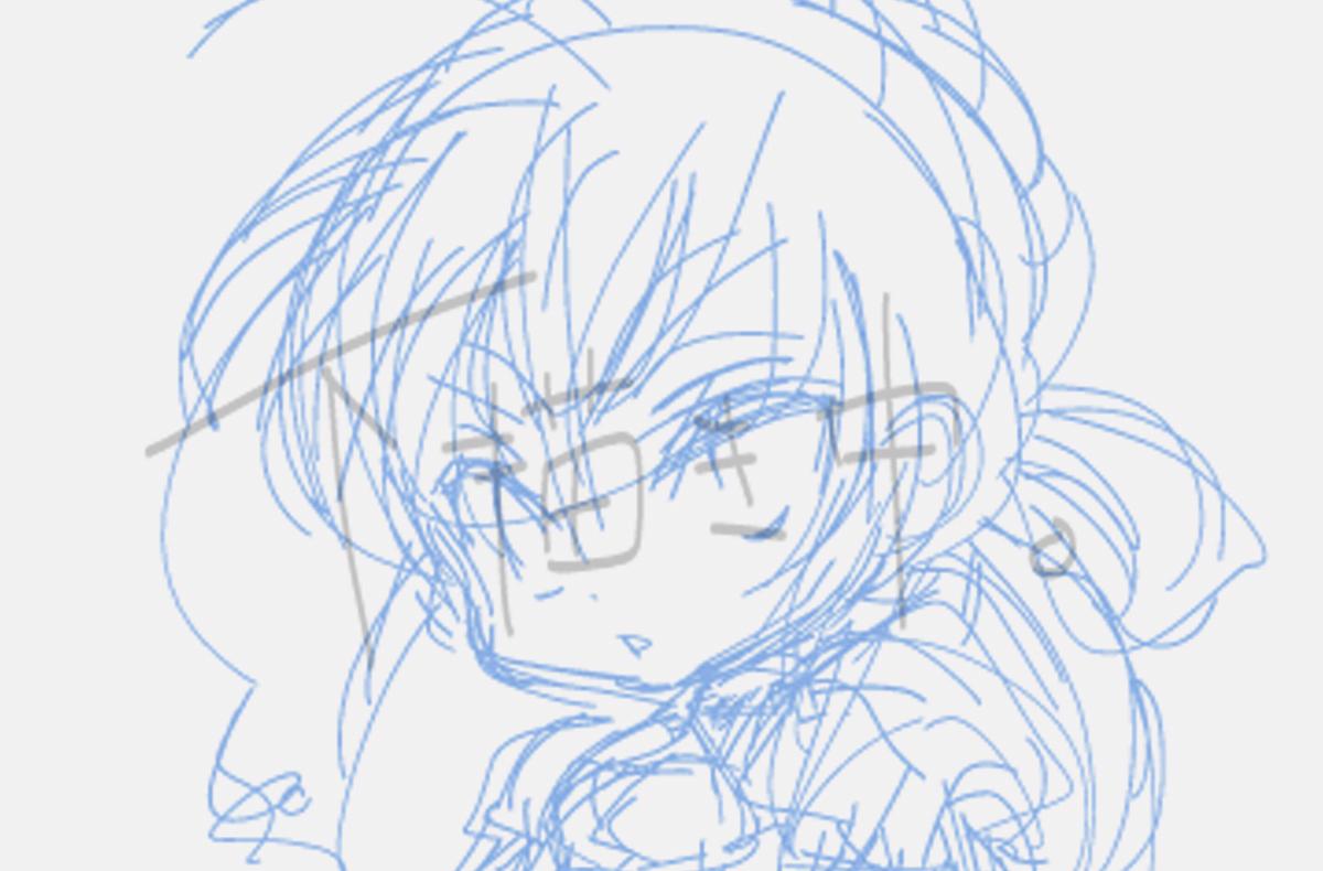 描いたことのないキャラクターを描くのは難しい。いつか描く事になれるときがくるといいけれど。