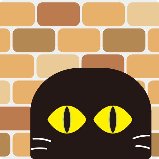 猫壁ファビコン