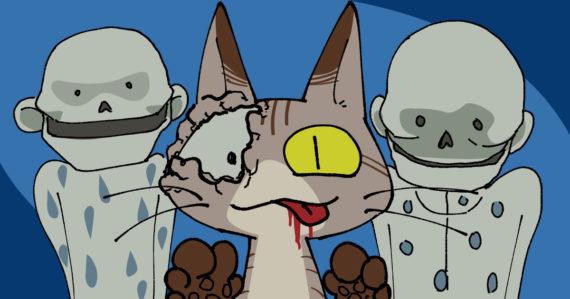 【血を吸う粘土】粘土のカカメが食べちゃうぞ!恨みを一杯抱えてムシャムシャゴクリ。人間ってオイシイネ。